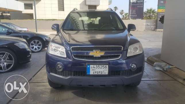 The safe car!Chevrolet Captiva 2009 full option/Company/best condition
