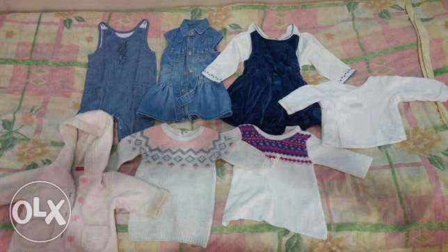 Baby girl clothes for sale size from 0-6 mnths more than 100 items