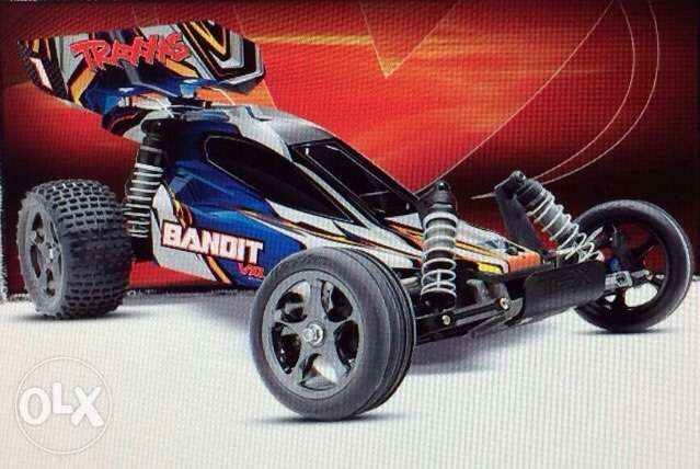 traxxas RC car - Bandit VXL Brushless - hpi tamiya