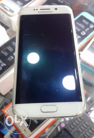 S6 Edge white, like new