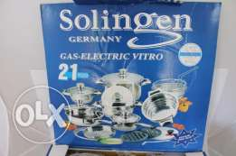 Solingen 21 pcs set Cooking