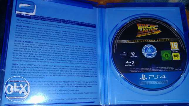 used ps4 game back to the future