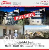 Apartment for sale in Beit Chabab