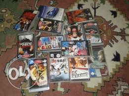 Psp and cds w kilon meshien w memori 8gb