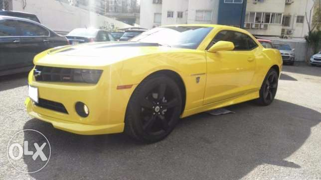 2010 Chevrolet Camaro LT with RS Package - Transformers edition