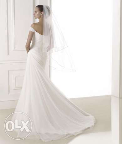 Wedding dress, used once For sale بيت الشعار -  2