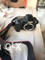 professional canon camera eos 20d full kit not used