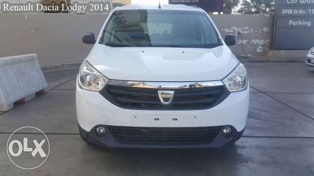 Extra Comfort!Renault Dacia Lodgy 2014 /company source/no accidents