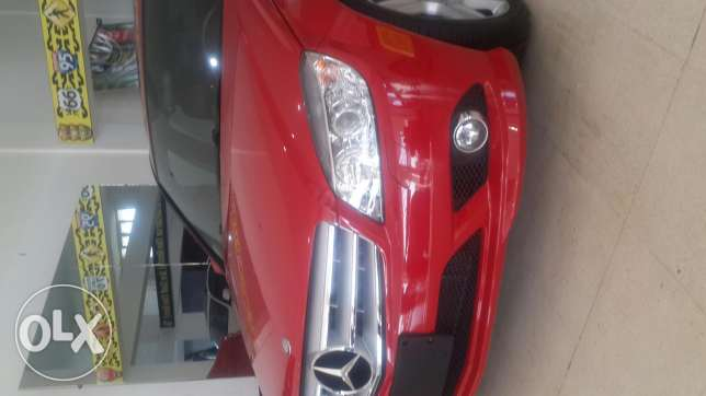 C300,2010,AMG KIT,navigation system, ,red/black leather,large screen النبطية -  7