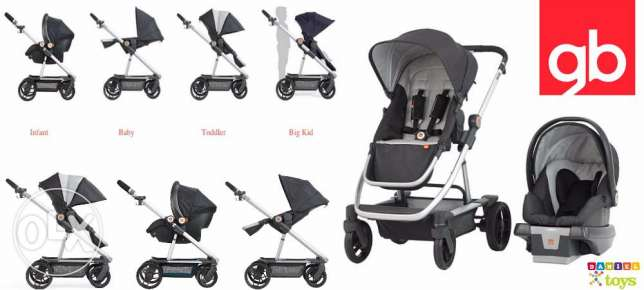 gb Evoq Travel System Stroller - Sterling for 550$