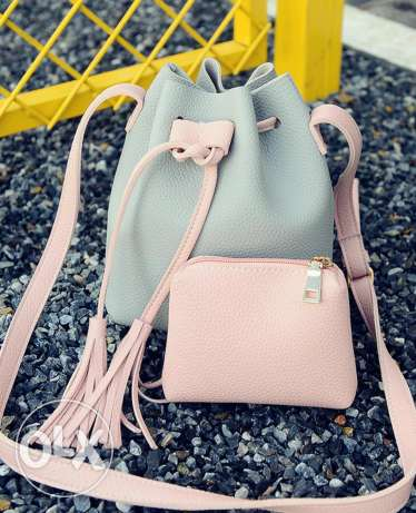 2 Pcs Sweet Fresh Style Bag Set Women's Shoulder Bag