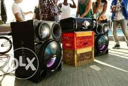 Stereo Sony Very Big for party