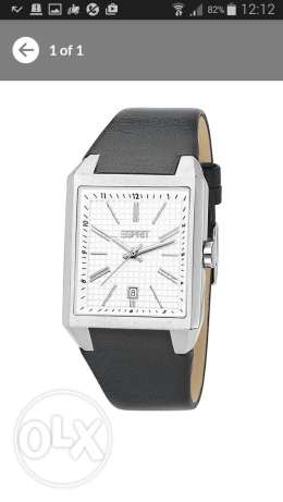 Original Esprit leather watch for men انطلياس -  1