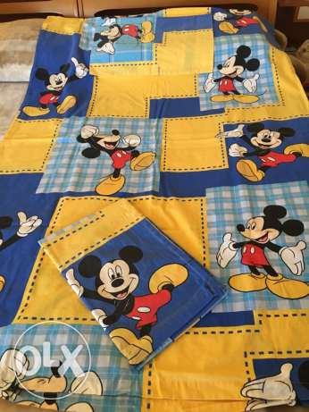 Mickey Mouse baby bed sets 3 pcs.