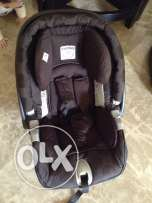 car seat peg-perego newborn till 1 year almost new without base,brown