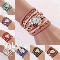 Sanwony Watch ( White, Red, Brown, Pink, Blue, Purple, Yellow )
