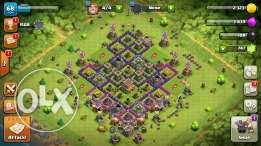 Clash of Clans Town Hall Level 8 For Only 200$ !