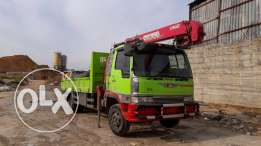 Hino ranger Super clean with crane