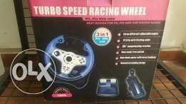 NEW Speed racing wheel (pc - ps4 - ps3 -ps3 -andorid)