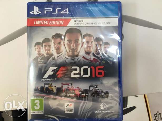 F1 2016 Limited Edition PS4 Game