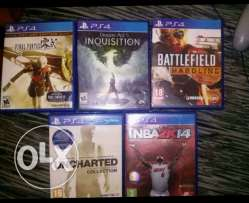 5 ps4 games for only 100 000 LL