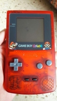 Gameboy game boy color red