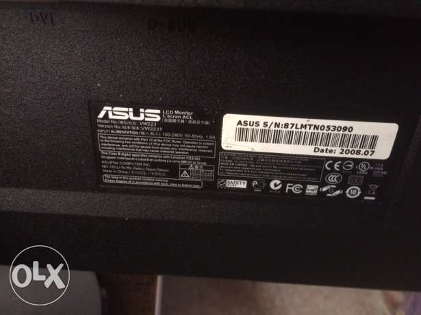 asus monitor gd condition
