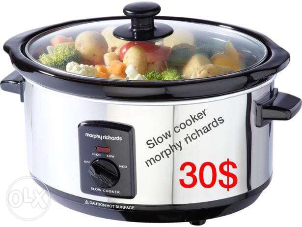 Slow cooker / morphy richards