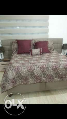 Double bed 180×200 +mattress+depot easy open