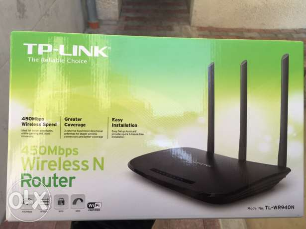Wireless Router ذوق مصبح -  1