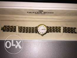 Oliver Ross Watch - 18K Gold Plated 3M - FOR SALE - 250$