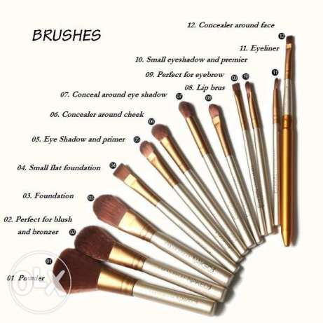 naked brushes