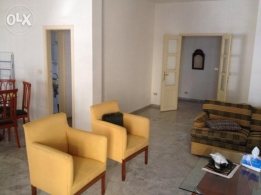 Furnished apartment for rent in Awkar, 125 m2