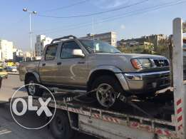 nissan frontier pickup double cabin 2000