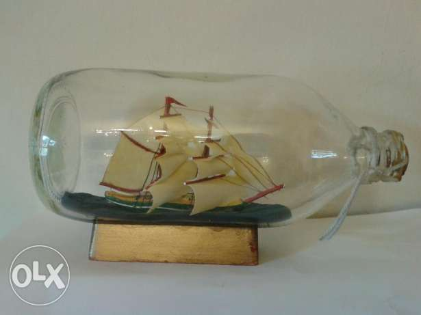 ship in a bottle 20cm