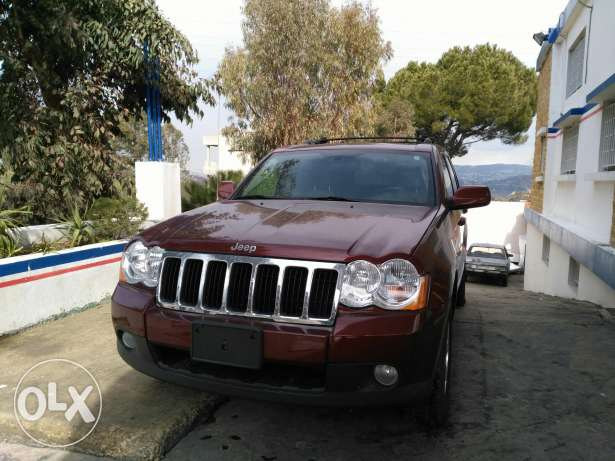 jeep grand chirockee 2008 full option clean carfax 4'7