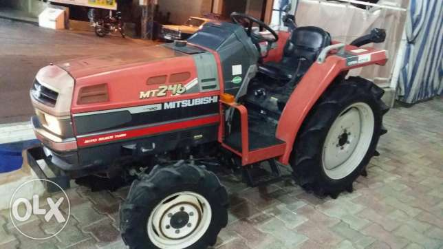 Used Japanese tractors