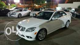 Mercedes C 300 Amg package 2009 full options black interior ajnabieh