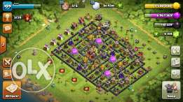 Clash of clans 109 level