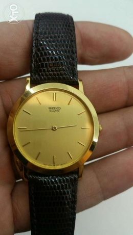 Seiko dress watch - seiko leather