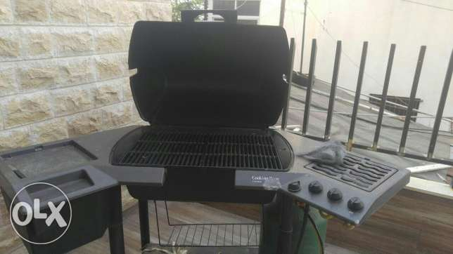 Charcoal Gaz barbecue