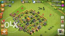 Account clash of clan for sale