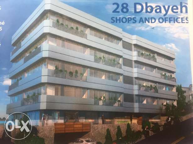 50 sqm office in Dbayeh - Delivery 2019