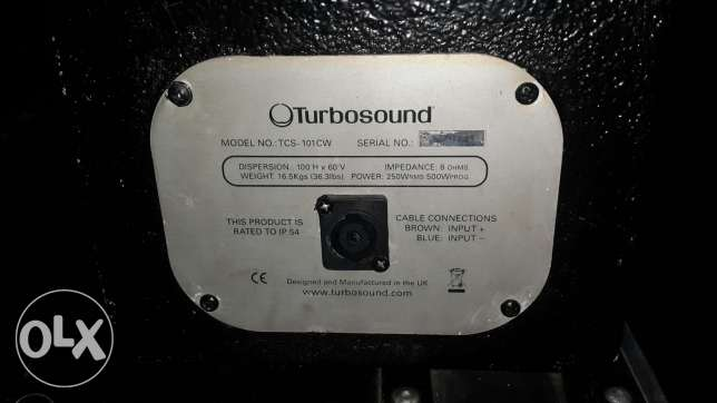 turbosound bass speakers
