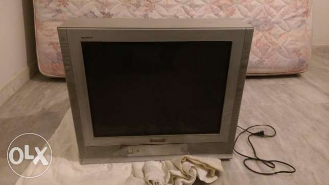 21 inch panasonic tv fully functional flat screen