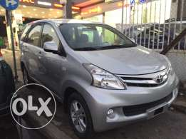 2013 toyota AVANZA 7seaters