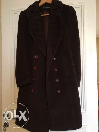 brown manteau size 40