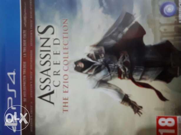 Assasins creed ezio collection on ps4 30 000LL