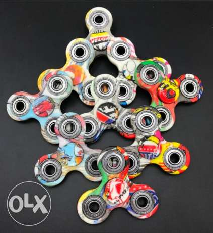 2mns SPIN multicolor Metal Spinners