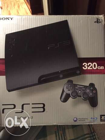 Ps3 (320gb) + masekten+ 4 games (fifa 16/ wwe2k16/ most wanted/ gta5) زغرتا -  3